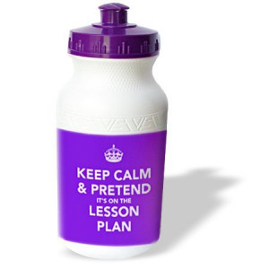 EvaDane - Funny Quotes - Keep calm and pretend it's on the lesson plan ...