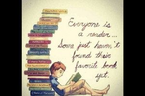 Reading takes you places...