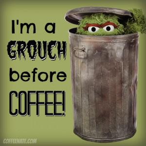 Oscar Grouch coffee