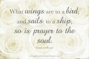 Wings, Sails & Prayer