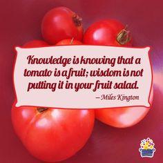 Edible Arrangements - #knowledge #wisdom #quotes More