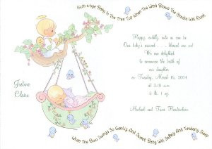 BABY SHOWER INVITATIONS & THANK YOUS