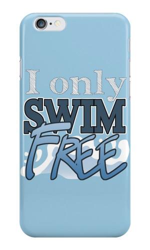 ... › Portfolio › I only Swim FREE - Iwatobi Swim Club Anime Quote