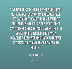 Retarded Quotes