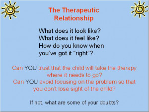 Play Therapy: Resolution of Core Feelings through Play