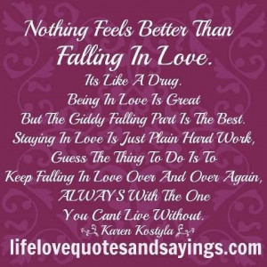 Falling love your smile quotes