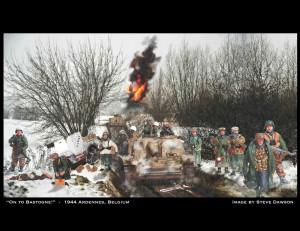 Thread quot On to Bastogne quot 1944 Ardennes Belgium