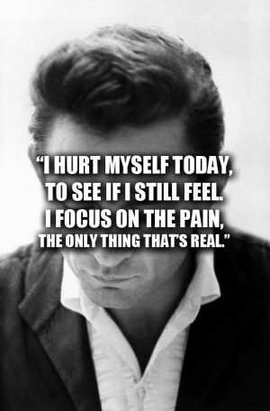 Johnny Cash is one my my Favorite singers but listing to the song Hurt ...