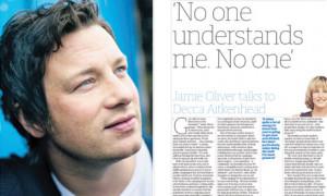 Jamie Oliver Burned His...