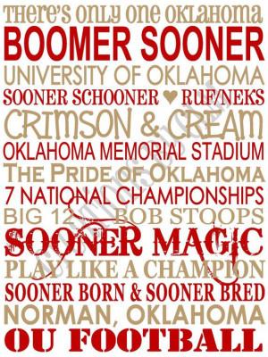 ... Sooner Magic, Sooners Baby, Canvas, Ou Sooners, Boomer Sooner Quotes