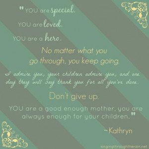 Special Needs Moms Quotes Mother s Day
