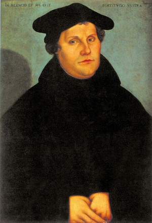 martin luther and the protestant revolution Propaganda in the protestant  revolution to the protestant  event that spurred the protestant reformation — martin luther posting his.