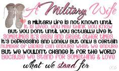 ... military spouse, marin, military quotes, armi life, militari life