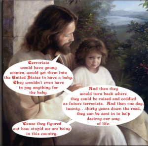 Teaparty Jesus