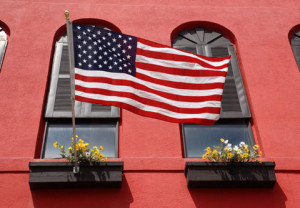 americanflag-arch-windows