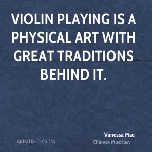 Vanessa Mae Quotes