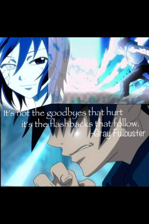 Fairy Tail Gray Quotes