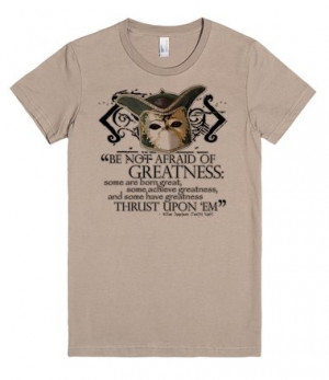 Shakespeare's Twelfth Night Greatness Quote