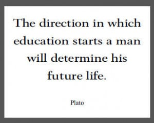 Plato Quote on Education