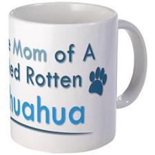 Spoiled Rotten Poodle Mug for
