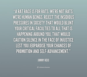 Rat Race Quotes