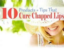 Spa Week online included our tips for curing chapped lips as the lead ...