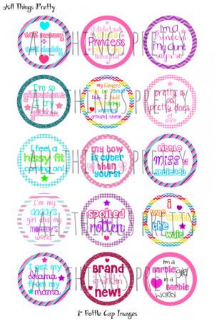 Cute Sayings Bottle Cap Images - Birthday - Summer - Cute - Bottlecaps ...