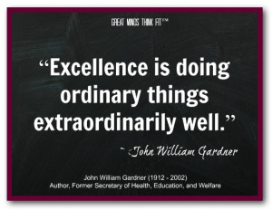 Excellence Quotes