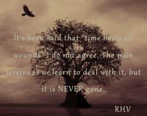 Time, Grieving & Loss - Time does not heal all