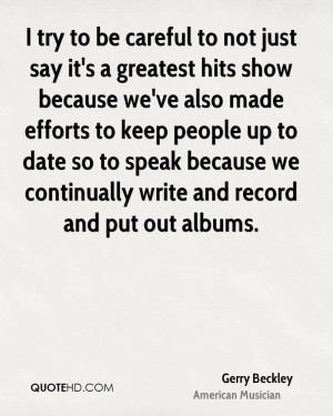 Gerry Beckley Quotes