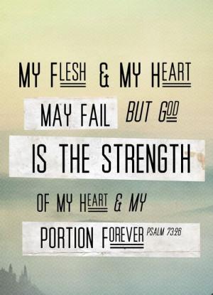Strength Scriptures Comforting scripture verses