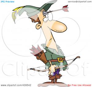 Clipart Illustration Robin