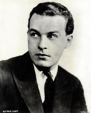 Alfred Lunt Pictures