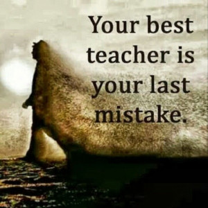 Daily InspiRAEtion: Mistakes Are Apart Of Life …