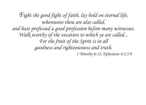 bible verses baptism