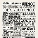 We're sorry, Vintage British Sayings Tea Towel is no longer available