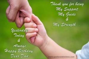 Birthday greetings on fathers birthday from son, Happy birthday dad ...