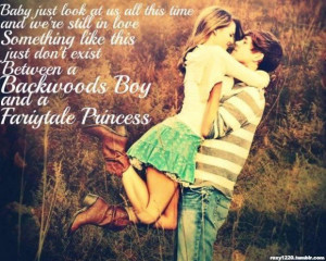 Famous country love song quotes