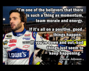 Jimmie Johnson NASCAR Driver Photo Quote Poster Fan Wall Art Print ...