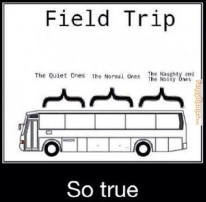 Funny memes – [Field trip seating]