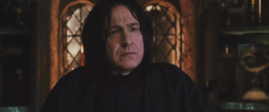 Severus Snape Harry Potter and the Chamber of Secrets (BluRay)