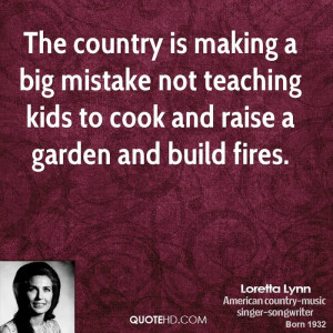 The country is making a big mistake not teaching kids to cook and ...