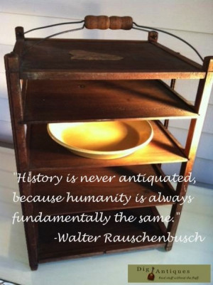 Walter Rauschenbusch quote – Dig Antiques #antiques