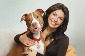 StubbyDog: News & Views - Isaboo, a pit bull, is Rachel Ray's dog