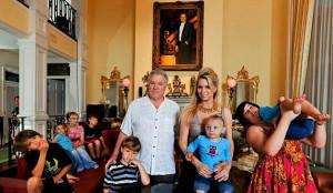 David Siegel Family Versailles