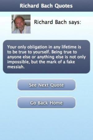 View bigger - Richard Bach Quotes for Android screenshot