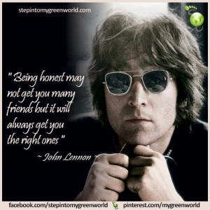 Being Honest John Lennon Quote