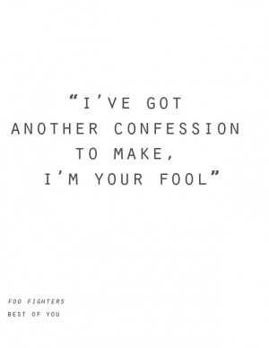 Best of you ::Love love love the foo fighters::