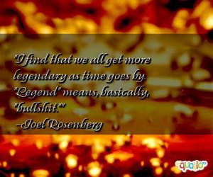 Legend Quotes
