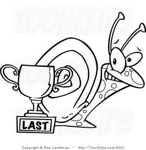 last place trophy